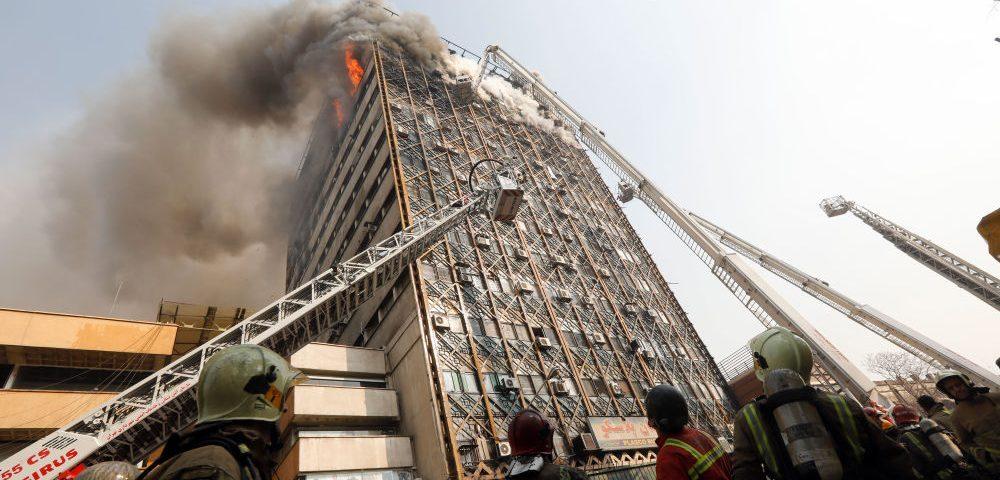 درباره واقعه تلخ ساختمان پلاسکو تهران!